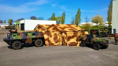 Tente militaire I-4S Innovation for shelter